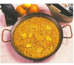 arroz de bacalao